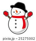 雪だるま 冬 ベクターのイラスト 25275002
