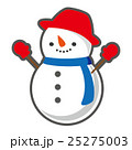 雪だるま 冬 ベクターのイラスト 25275003