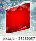Merry Christmas greeting card template. EPS 10 25289057