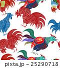 ニワトリ チャイニーズ 中国人のイラスト 25290718