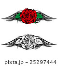 rose with tribal 25297444