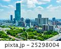 【大阪府】大阪の街並み 25298004
