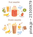 Fruit And Protein Smoothies Infographic Recipe 25300979