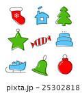 Christmas icon set 25302818