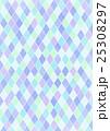 ひし形 格子柄 格子模様のイラスト 25308297