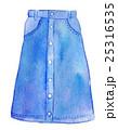 水彩イラスト ファッション デニムスカート 25316535