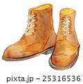 水彩イラスト ファッション ブーツ 25316536