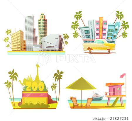 Miami 2x2 Design Conceptのイラスト素材 [25327231] - PIXTA