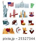 USA Flat Icons Set 25327344