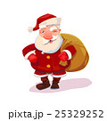 Santa with bag vector illustration 25329252