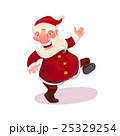 Santa dancing vector illustration 25329254