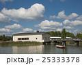 シベリウス公園 ボートと建物 25333378