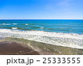 九十九里浜 長生村海岸を空撮 25333555