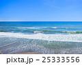 九十九里浜 長生村海岸を空撮 25333556