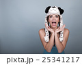 女性 パニック 恐慌の写真 25341217