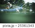 川遊びする男女 25361343