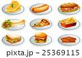 食 料理 食べ物のイラスト 25369115
