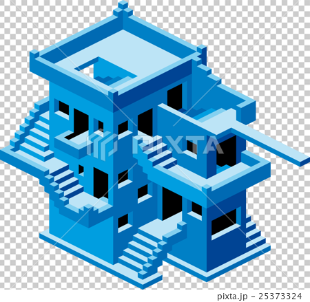 Abstract House Vector 25373324