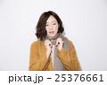 冬服 ファッション 女性の写真 25376661