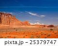 Sandstone monuments, Arches National Park, Utah 25379747