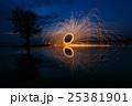 Reflection of swing fire 25381901