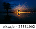 Reflection of swing fire 25381902