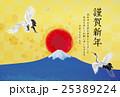 富士の初日の出 25389224