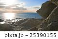 海 海岸 夕日の写真 25390155