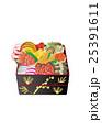 お節 お節料理 正月のイラスト 25391611