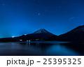 本栖湖と富士山 25395325
