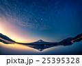 夜明けの富士山 25395328