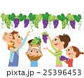 家族 ぶどう狩り 収穫のイラスト 25396453