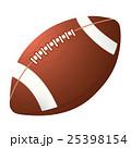 ラグビーボールのイラスト 25398154