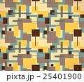 四角形模様のテキスタイル(カラフル) 25401900