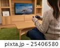 テレビゲーム コントローラー シューティングゲームの写真 25406580