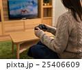 シューティングゲーム コントローラー 人物の写真 25406609