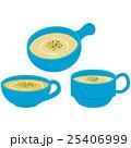 カップスープ スープ コーンポタージュのイラスト 25406999