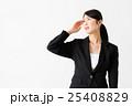 頭痛 偏頭痛 ビジネスウーマンの写真 25408829