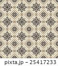 ノルディック柄 雪 模様編みのイラスト 25417233