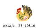 酉 酉年 鶏の写真 25419310
