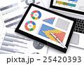 データ ビジネス 情報のイラスト 25420393