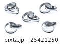 指輪 シルバー ペアリングのイラスト 25421250