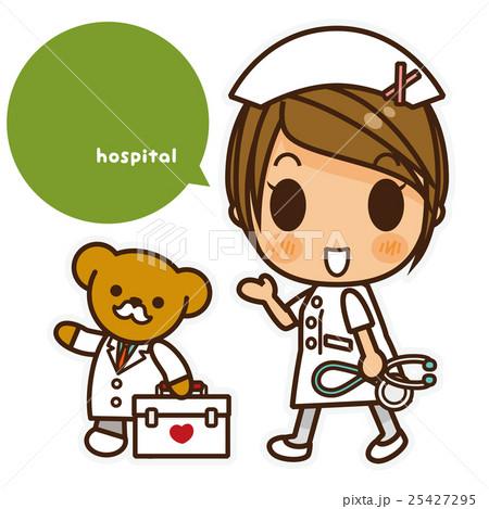 オンナノコ 看護師(白) 案内 25427295