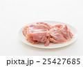 鶏もも肉 白バック 25427685