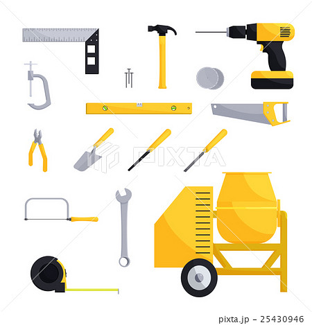 Engineering and construction icon set 25430946