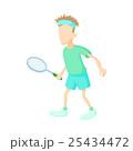 テニス ベクトル 男性のイラスト 25434472