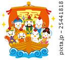 七福神 酉 宝船のイラスト 25441818