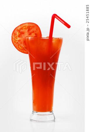 トマトジュースの写真素材 [25451885] - PIXTA