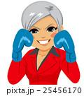 キャリアウーマン ビジネスウーマン 女性実業家のイラスト 25456170