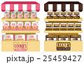 クッキー 食 料理のイラスト 25459427